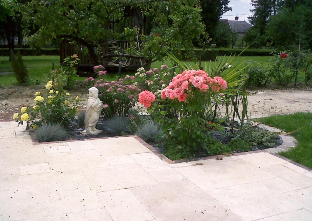 Sauvegrain terrasse fleurs