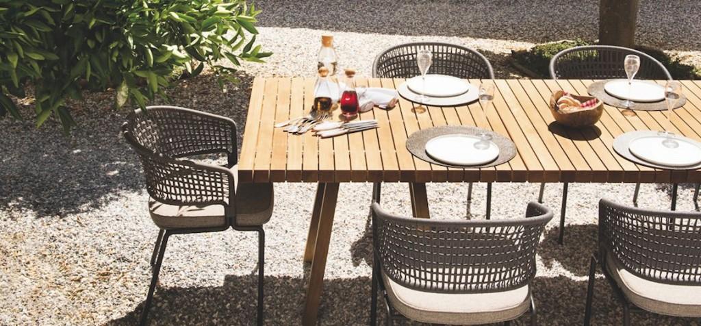 Table extérieur Le Jardin de l'Ile de Ré