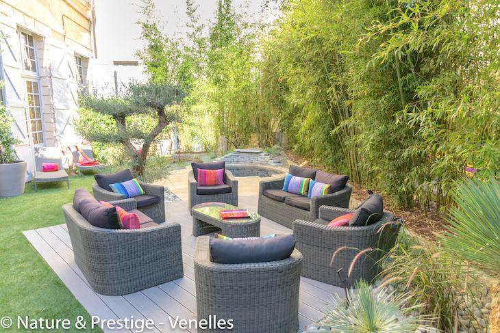 terrasse jardin Nature & Prestige