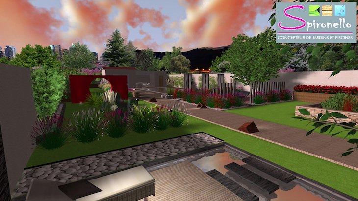 Spironello jardin 3D