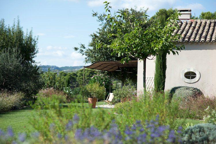 Jardin maison les jardins de Glanum