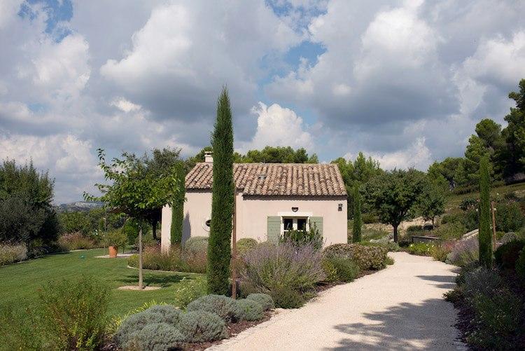 maison jardin les jardins de Glanum