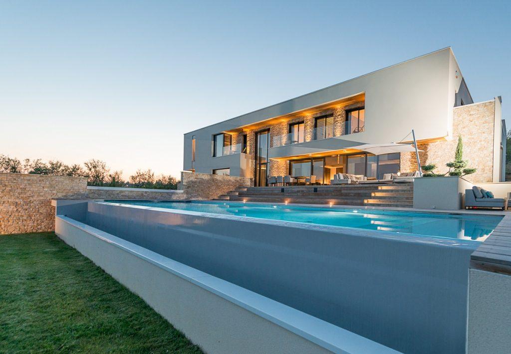 piscine vitre